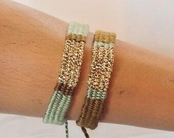 Bracelet: Duo Amesoeurs Mellie Gold