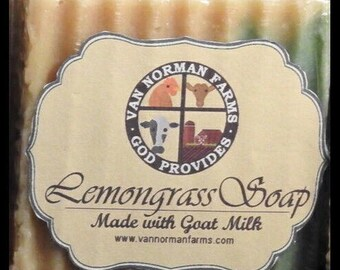 Lemongrass Soap 4.5oz.