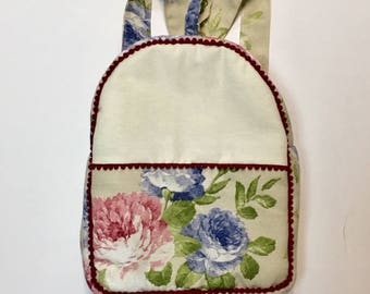 Backpacks Canvas Flores