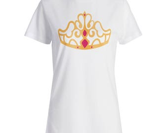 Princess Tiara Ladies T-shirt t279f