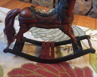 Vintage/Antique Rocking Horse
