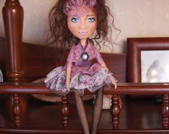 doll decor handmade doll interior doll fabric dollsgift birthday gift doll artdoll in cloth tilda doll vintage stuffed doll craft doll