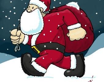 Right Down Santa Claus Lane