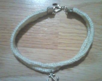 Navy ink bracelet