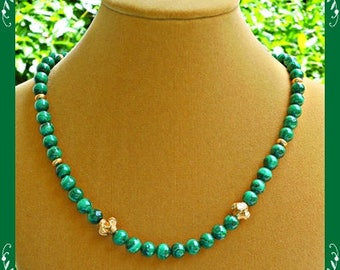 Malachite Necklace 03