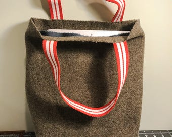 Oregon-Spun Wool Tote