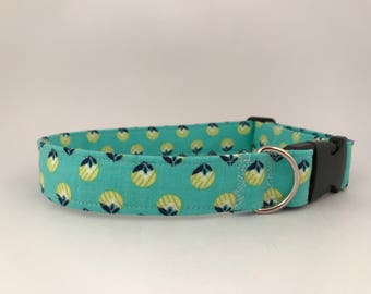 Large Pet Collar, Pineapple