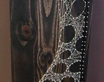 Hand Made Giraffe String Art