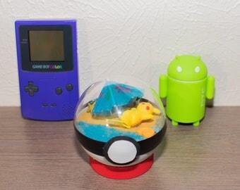 Pokemon Pokeball: Beach Pikachu