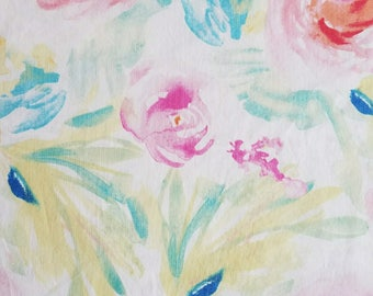 Floral Fitted Crib Sheet