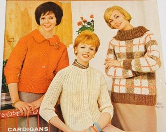 Vintage Knitting Sweater Patterns