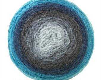Sirdar Colourwheel - DK Yarn Cake - Deep Blue Sea (204)