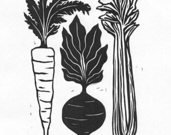 Vegetables | Digital Print