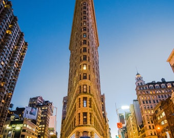 Flatiron At Night