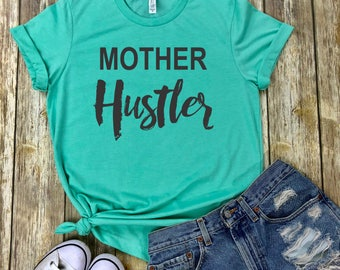 Mother hustler, Mother HOOD LIFE, mom life t-shirt, mommin, motherhood, mom life tshirt, hood life, mother, brave, mom hustler, mom gift
