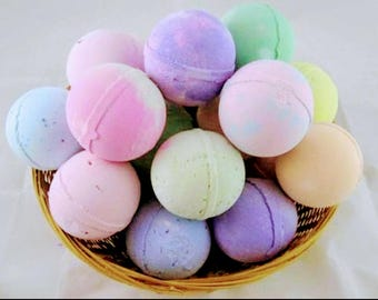 Assorted bathbombs Buy 3 get 1 free