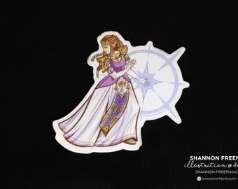 """3"""" Zelda Sticker (Weather Proof)"""