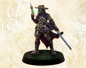 Michelle Gaccini, the Plague doctor