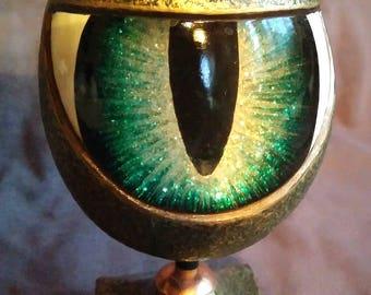 Decorative egg dragon eye