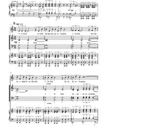 Sheet music. Choir music. Author's Christian song. In Russian. Это боль. It is a pain.  PDF