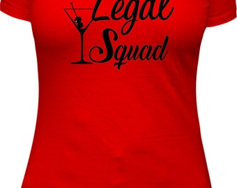 Birthday Squad Birthday shirt women birthday 21 adult birthday shirt ladies shirt t shirt Legal Squad Squad Shirts t shirts B-Day Squad Bday