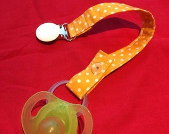 Soother/ Pacifier clip holder