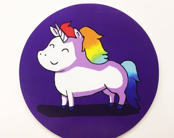 Unicorn Laptop Sticker