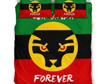 Wakanda Forever Bed Set