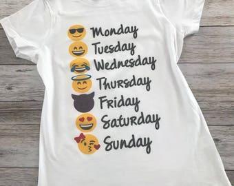Emojis Week Tshirt