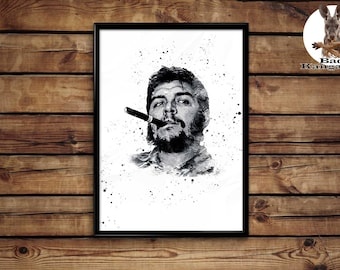 Che Guevara print wall art home decor poster