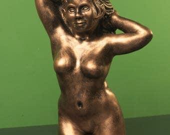 Female figure sculpture