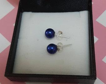 Lovely handmade stud earrings