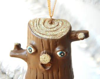 Log Ornament