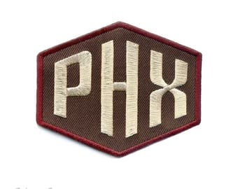 PHX Metroline : Embroidered Patch