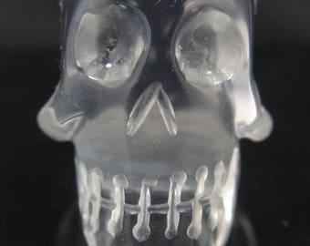 Rock Crystal Carved Skull