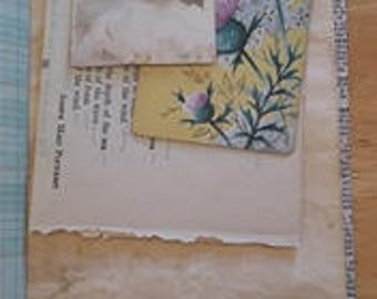 Traveler's Notebook Insert A Touch of Vintage Love