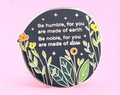 Made of Stars Pin | Enamel pin, quote pin, proverb pin, inspiring pin, Serbian quote, Serbian proverb