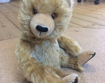 Henrietta - one of a kind mohair artist teddy bear, 12 inches, by BigFeetBears