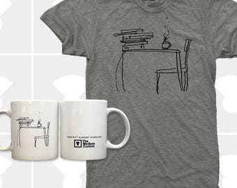 Sunday Morning - T Shirt & Coffee Mug Set (Men)
