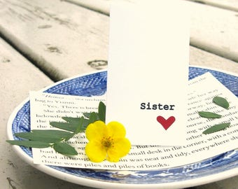Sister Magnetic Bookmark
