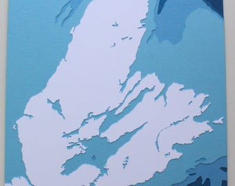 Cape Breton - original 8 x 10 papercut art
