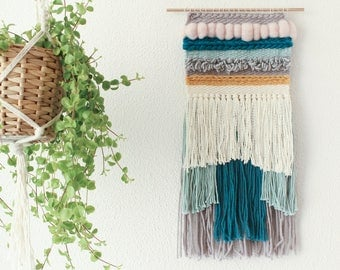 Ready to ship hand woven wall hanging | Woven tapestry