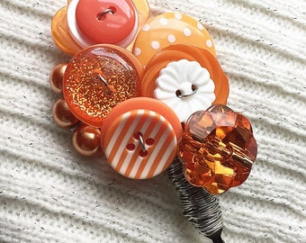 Tangerine Disco - Lapel Pin