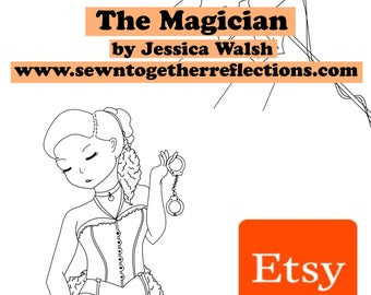 The Magician - Resemblance: A Tarot of Inspiring and Stunning Women