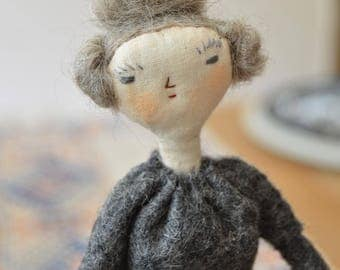Jane - Handmade doll