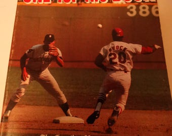 1969 Official All Time Baseball Records Book,ONE For the Book, Right Hand Batters, League Fielding, Club Records, Batting Records