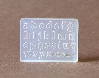 Alphabet Small Letters Miniature Mold
