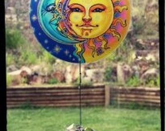 3D Sun and Moon Sun Catcher