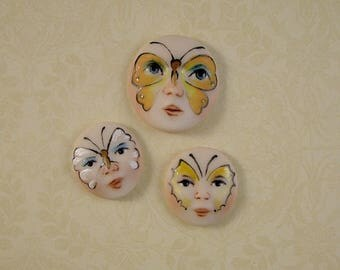Butterfly Face Embellishment set of 3