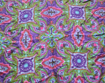 Vintage Colorful Scarf by Vera